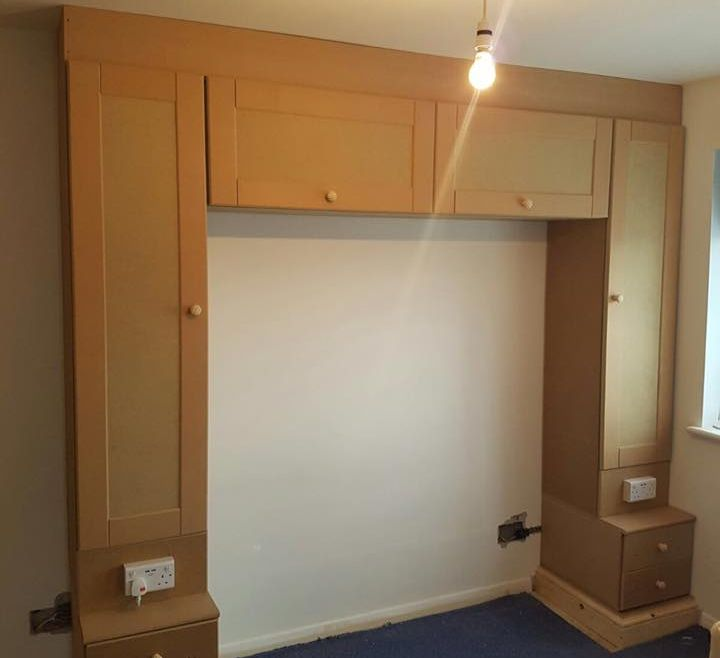 Bespoke bedroom storage solutions